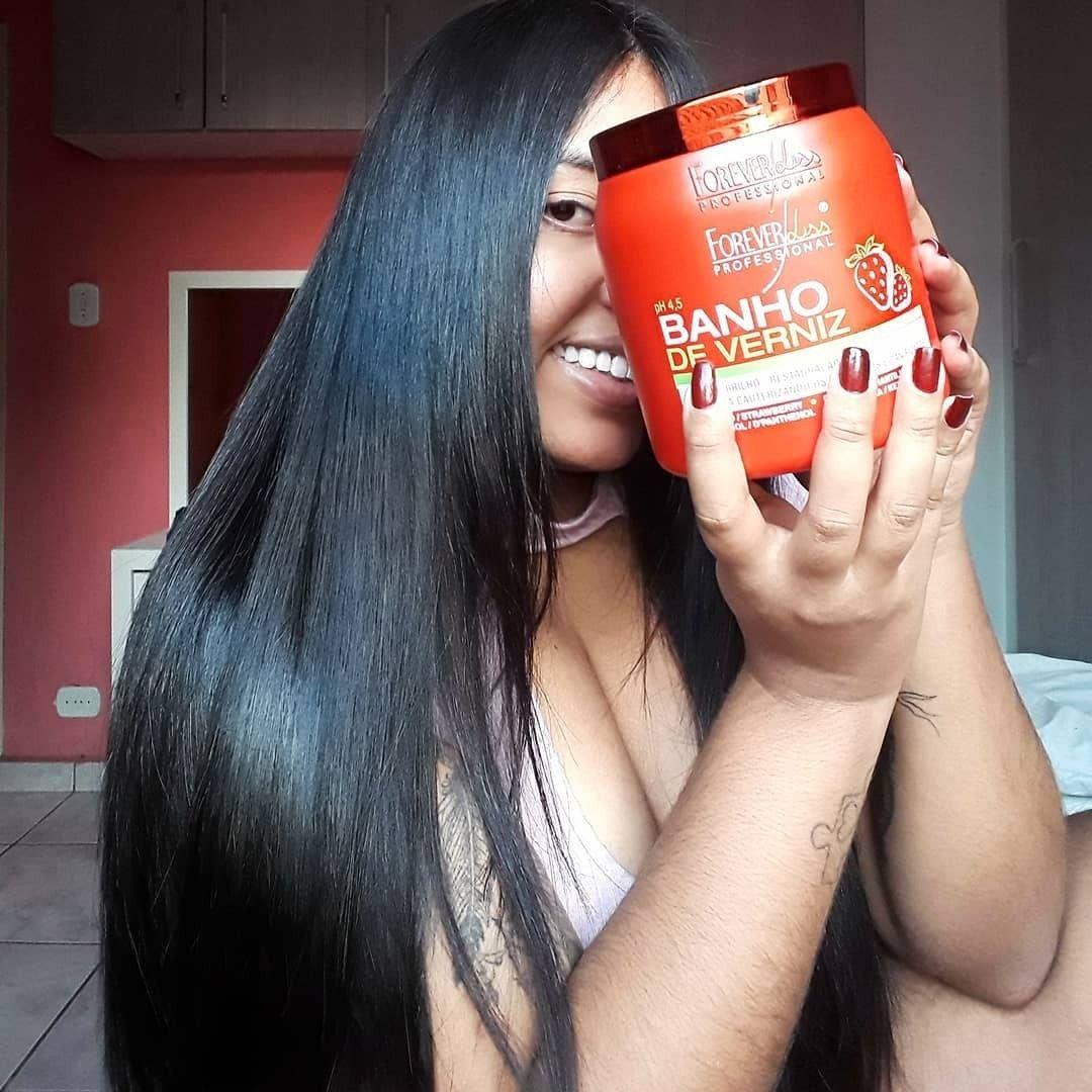 Repost Kariine Mascara Banho De Verniz De Morango Resenha