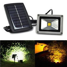 10w Solar Power Led Flood Night Light Garden Spotlight Waterproof Lamp Outdoor Outdoor Flood Lights Solar Spot Lights Outdoor Solar Powered Garden Lights