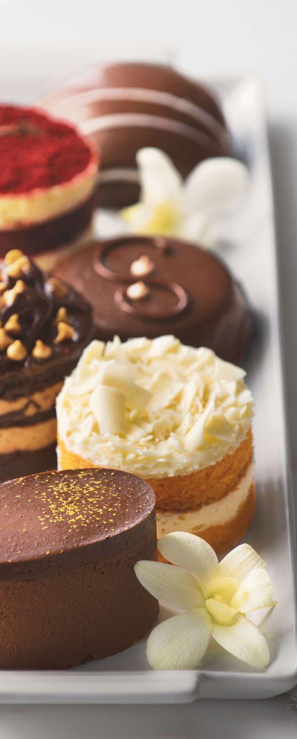 Mini Cake Sampler   Desserts   Pie bakery, Gourmet recipes ...