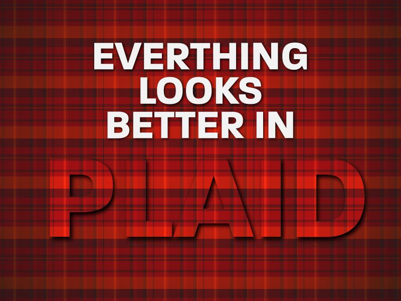 plaid #fabric #poster #typo #red #fashion #clothes Scottish All