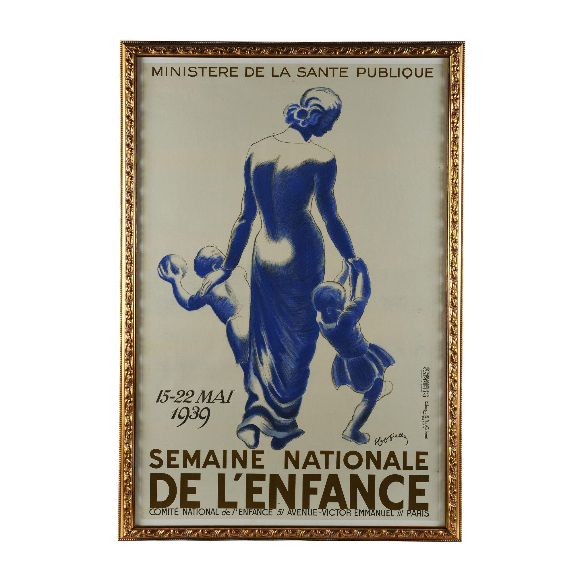 Semaine De L'Enfance Original French Poster 1939