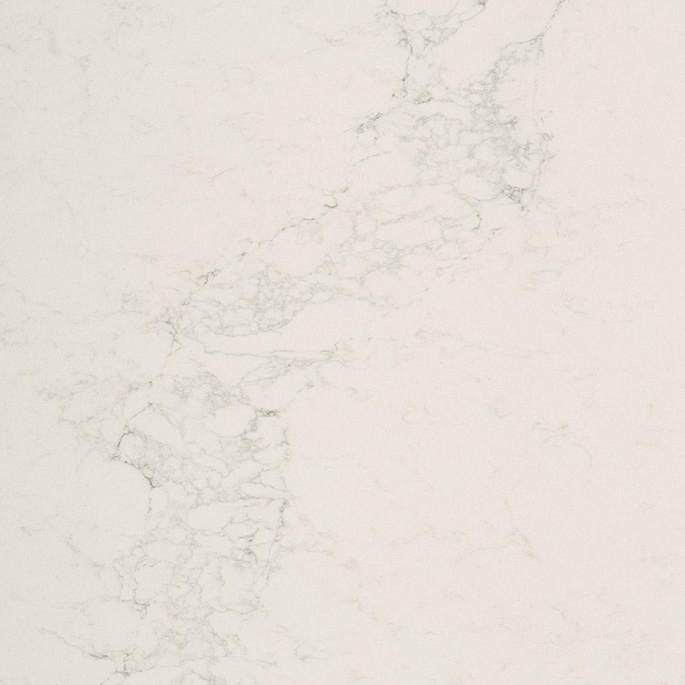 Caesarstone 10 In X 5 In Quartz Countertop Sample In Calacatta