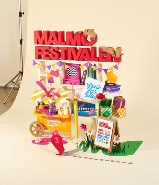 Malmö Festival paper art