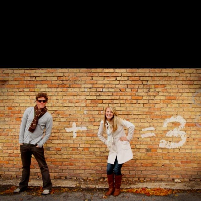 Baby announcement! Haha okay a lot of these are dumb, but I think that this one is way cute. :)
