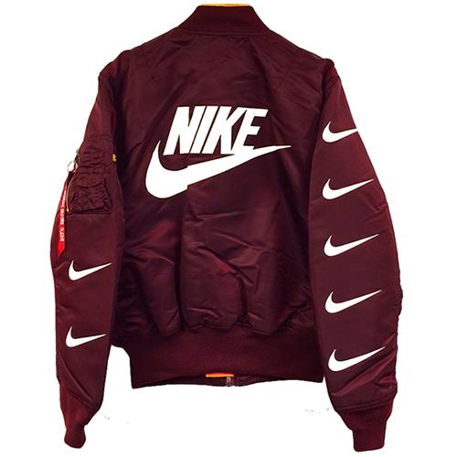 Navegar venta barata Nike Cazadora Marrón tumblr salida descuento descuento grande comprar barato Manchester venta sitio oficial 2u22EUzkx