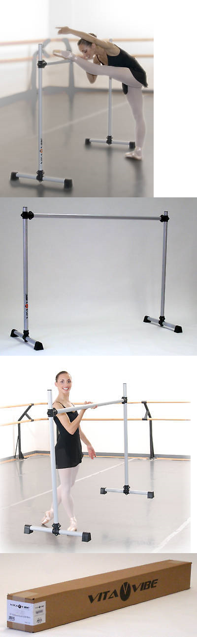 Other Fitness Equipment And Gear 28065 Ballet Barre B60 Portable 5ft Single Bar Stretch