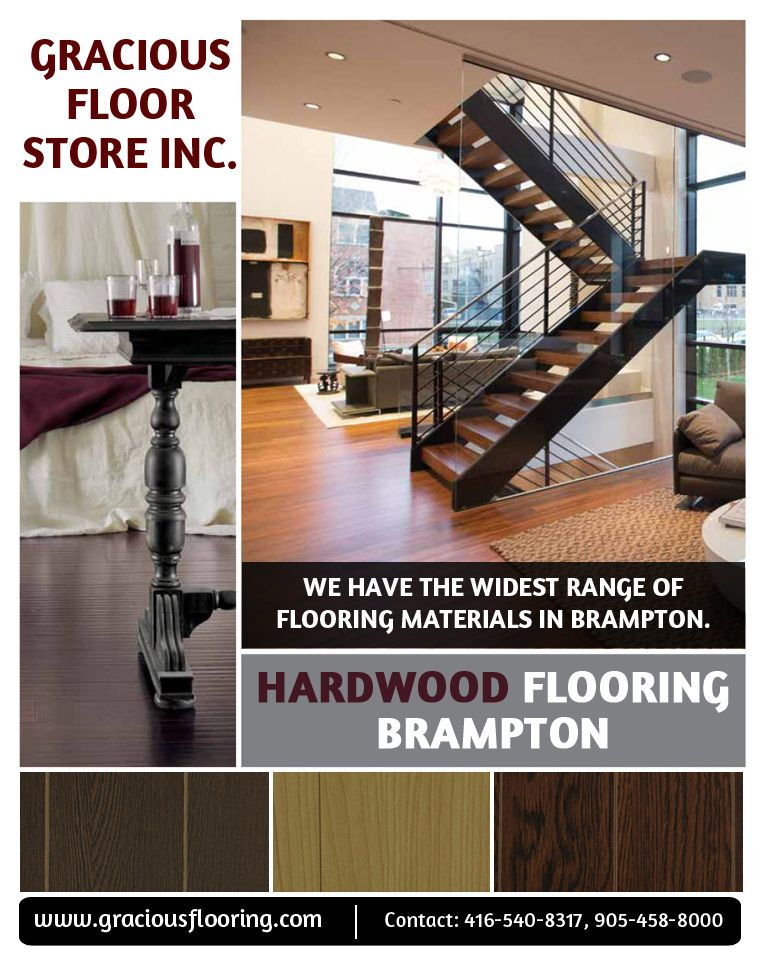 Find best Brampton Hardwood Flooring We provide