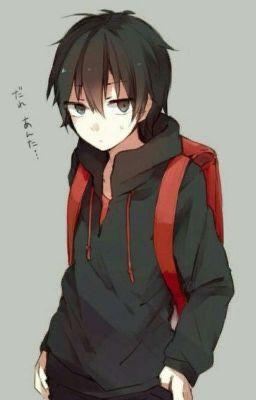 Random anime boys x Male reader