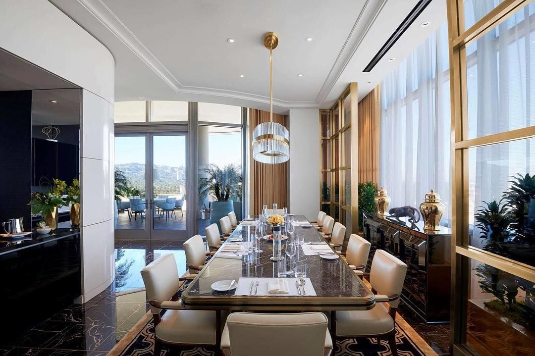 The Presidential Penthouse Suite Waldorfastoria Having Only Just Begun Welcoming Guests The N Hotel Suite Luxury Spacious Living Room Luxury Collection Hotels