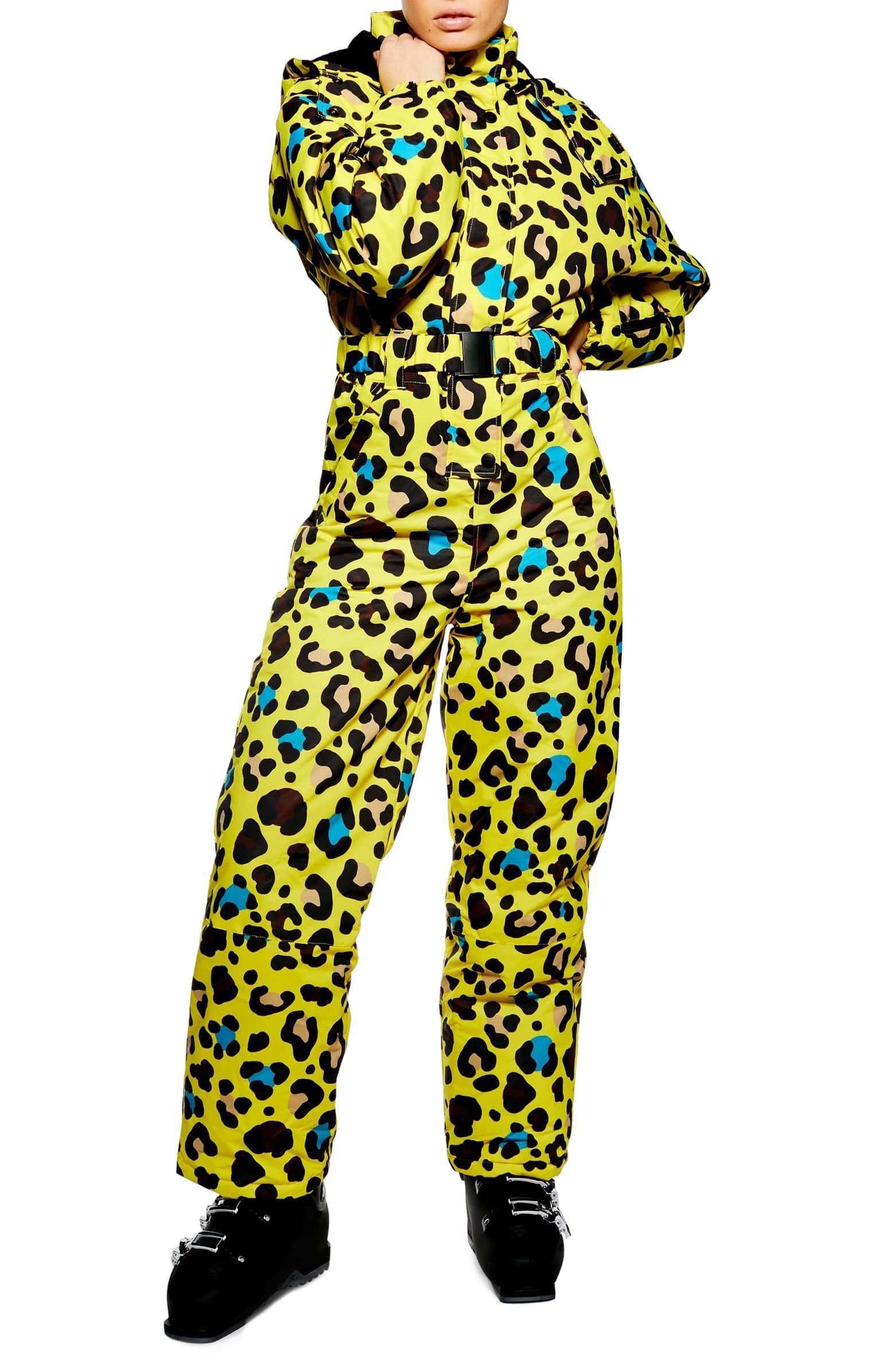 6e66d34d6a51 Sno Gwen Waterproof Leopard Jumpsuit