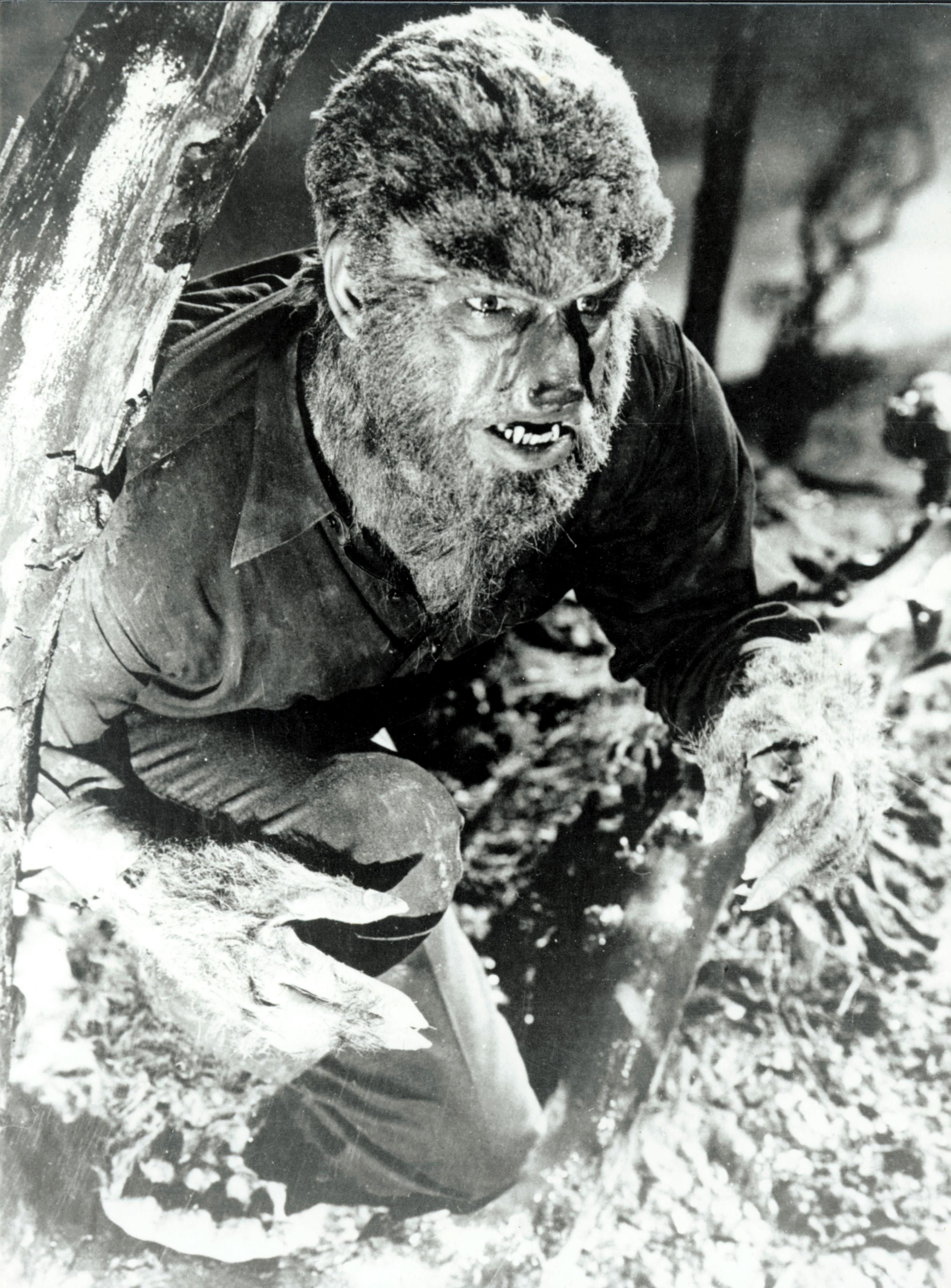 Lon Chaney Jr., in 'The Wolf Man' (1941). This is a proper ...