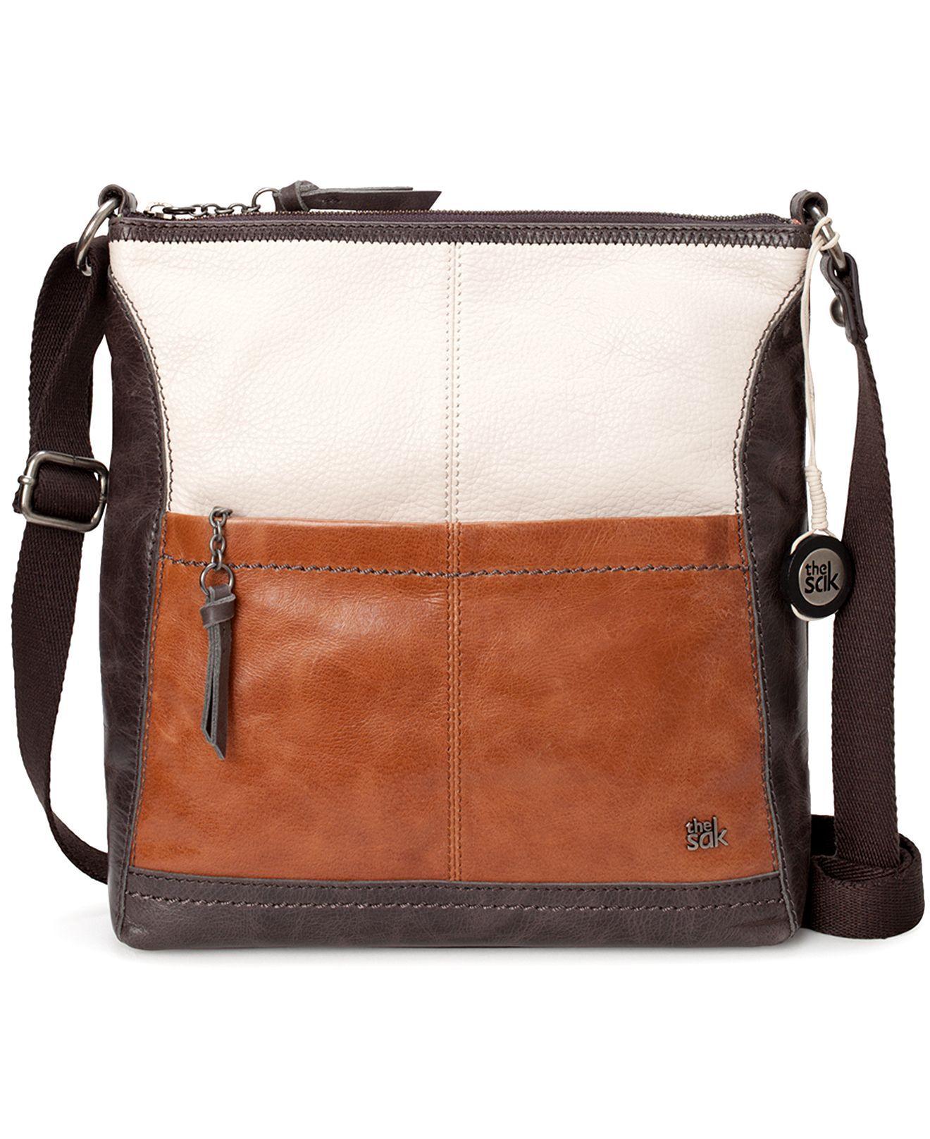 The Sak Handbag Iris Leather Crossbody Bag Clearance Handbags Accessories