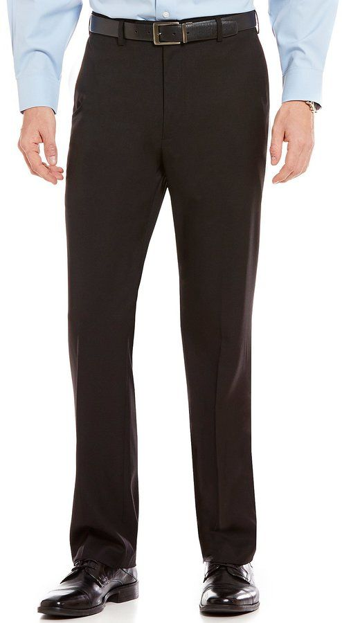 78082253e Roundtree & Yorke Big & Tall Travel Smart Ultimate Comfort Classic Fit Non-Iron  Twill Dress Pants