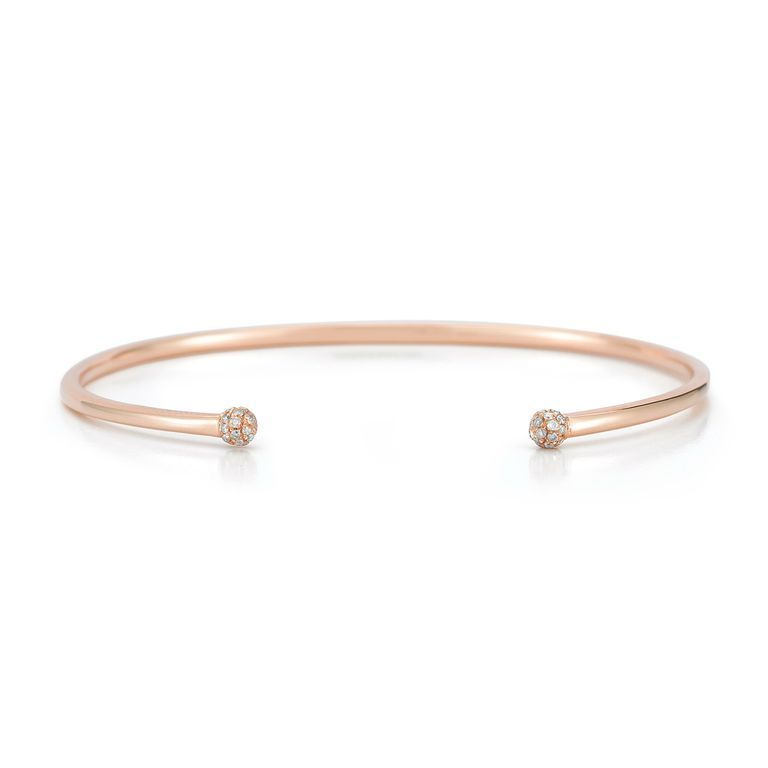 Details About Womens 0 07 Ct 14k Rose Pink Gold Round