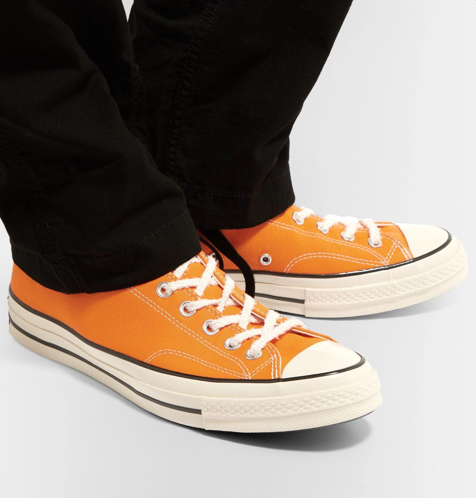 Converse Orange Chuck 70 Low Top