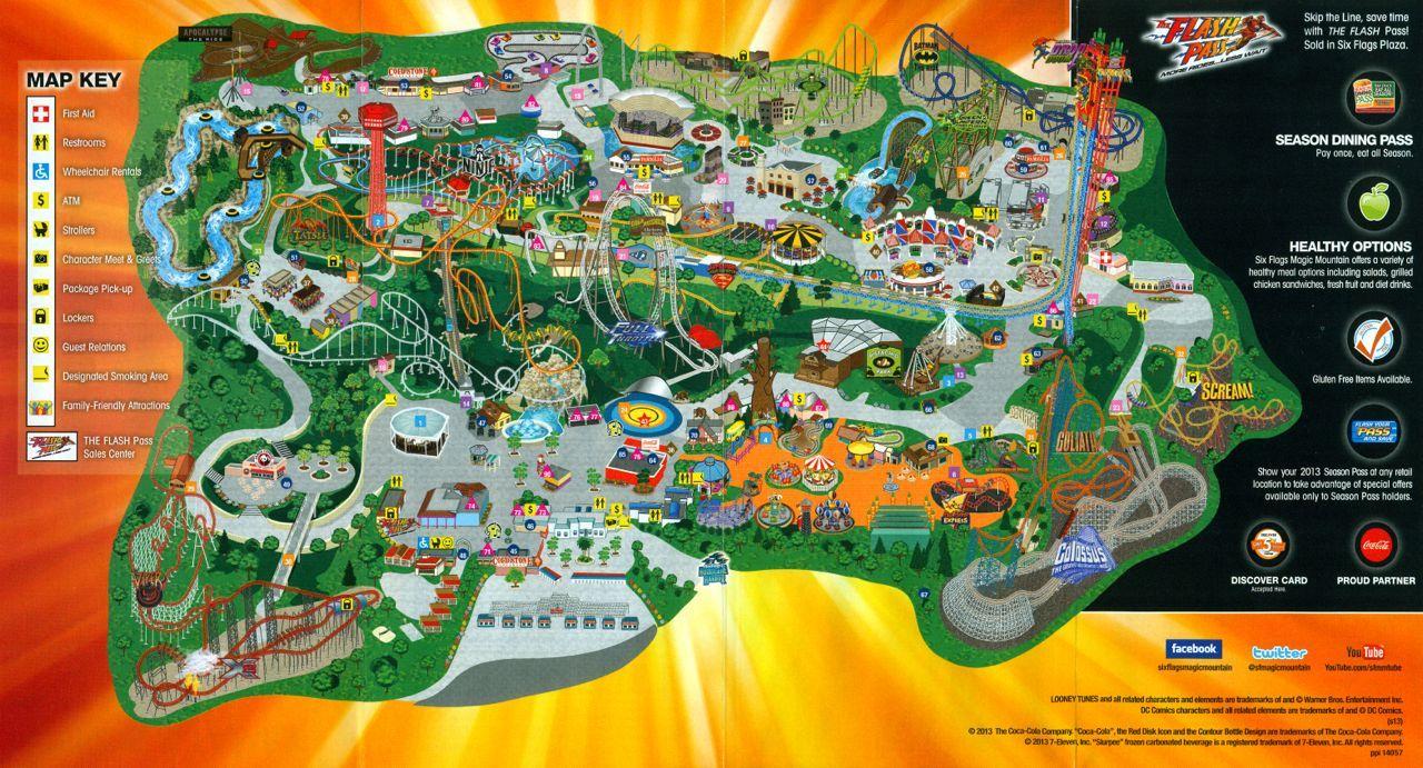 Six Flags Magic Mountain Mountain Wallpaper Six Flags Wallpaper
