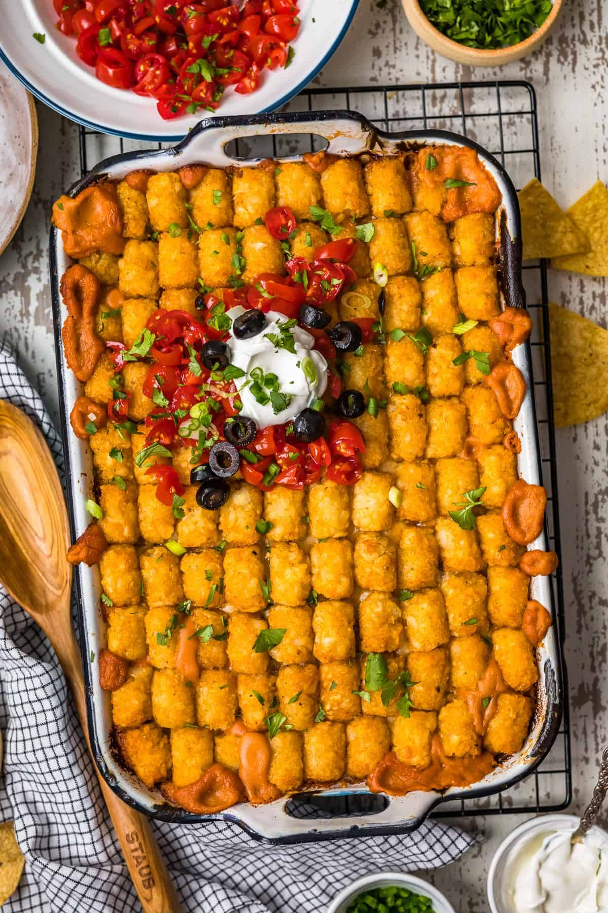 Mexican Tater Tot Casserole Recipe - The Cookie Rookie® in ...