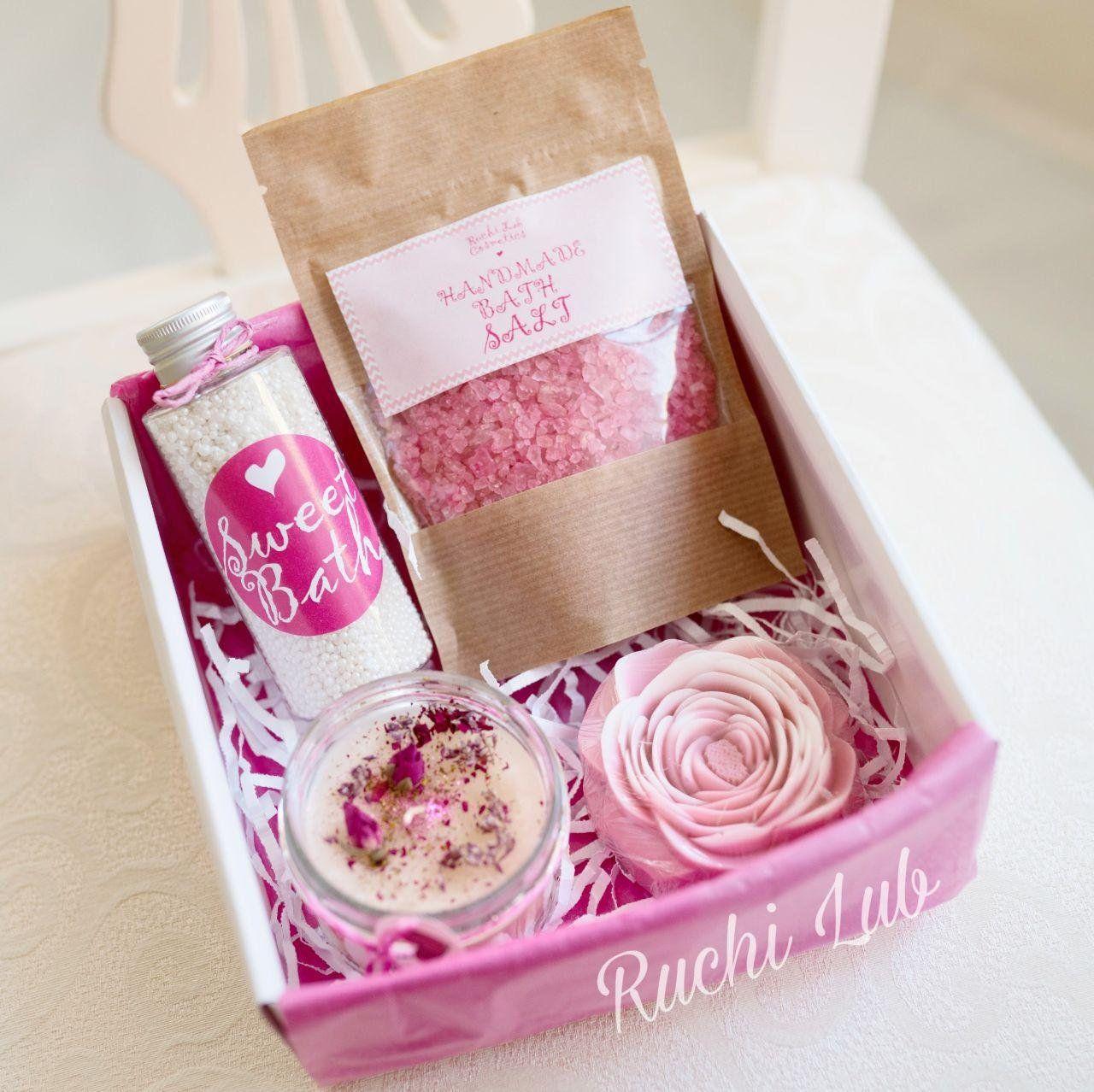 Spa Set Bathroom Set Wedding Gift Home Spa Kit Bath Set Gift