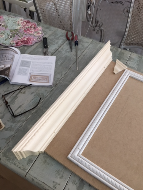 How to make a French Trumeau Mirror
