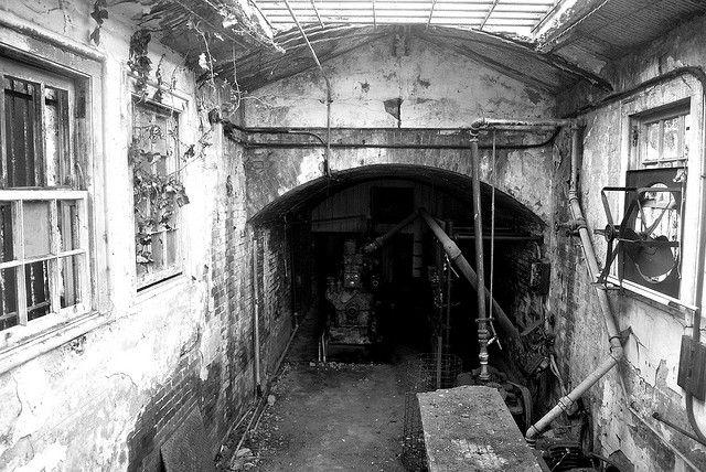 Alcatraz Morgue, a very haunted Place ~ by battyward, via Flickr