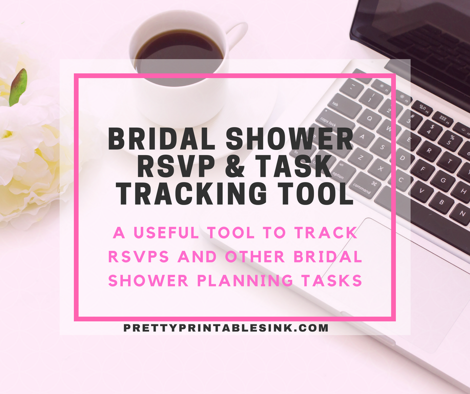 how to easily track bridal shower rsvps