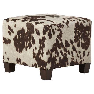 Trent Austin Design Stanton Upholstered Cube Ottoman
