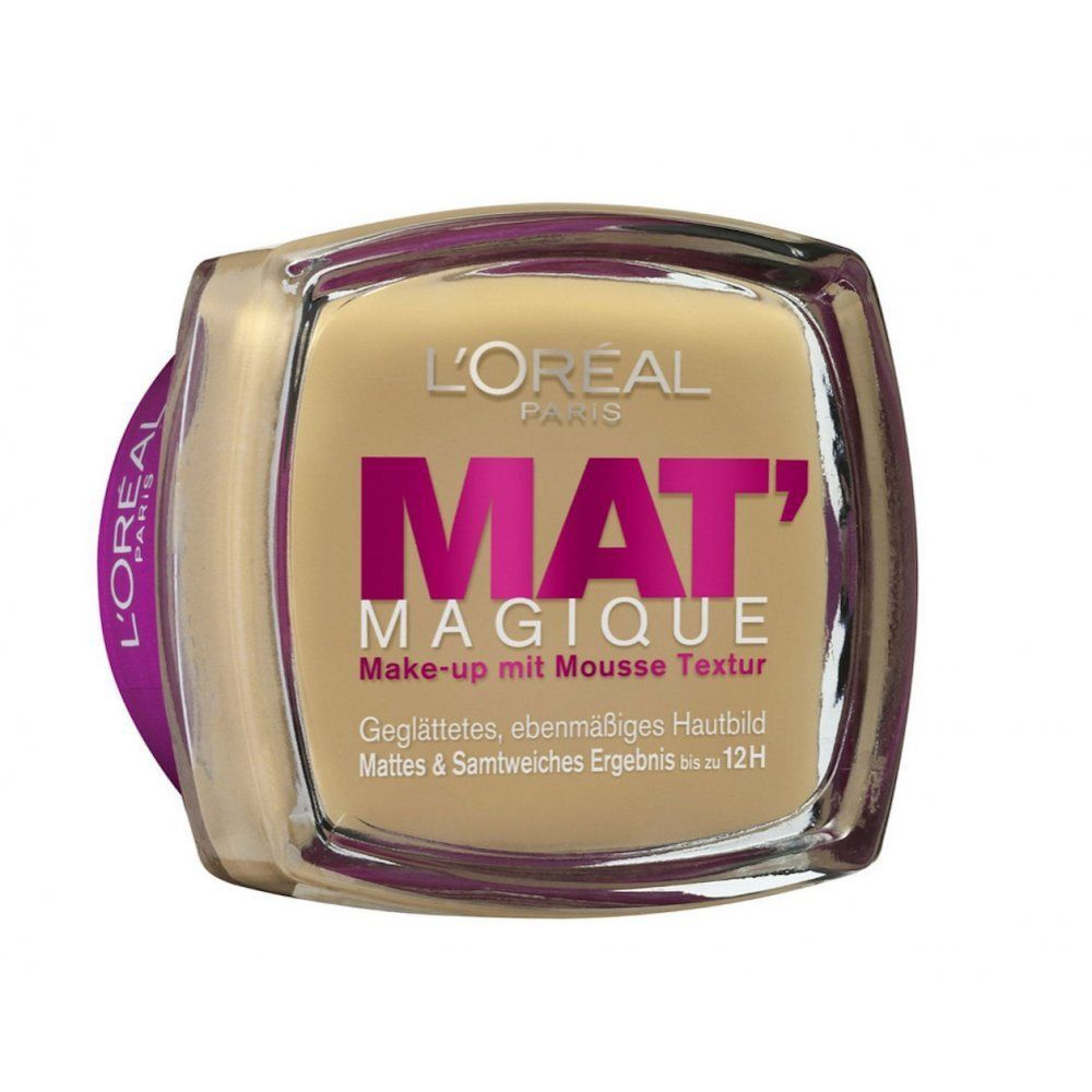 L Oreal Matte Magique Foundation Choose Your Shade Loreal Loreal Paris Gold Peak Tea Bottle