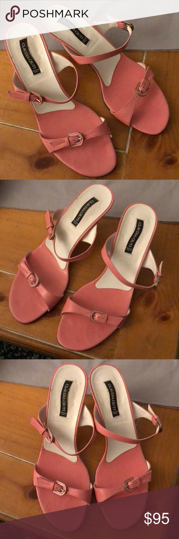 Authentic Claudia Ciuti perfect condition Sandals Very