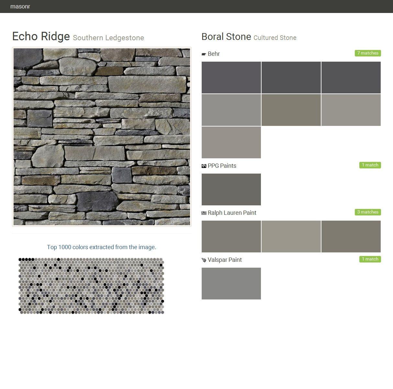 Echo Ridge Southern Ledgestone Cultured Stone Boral