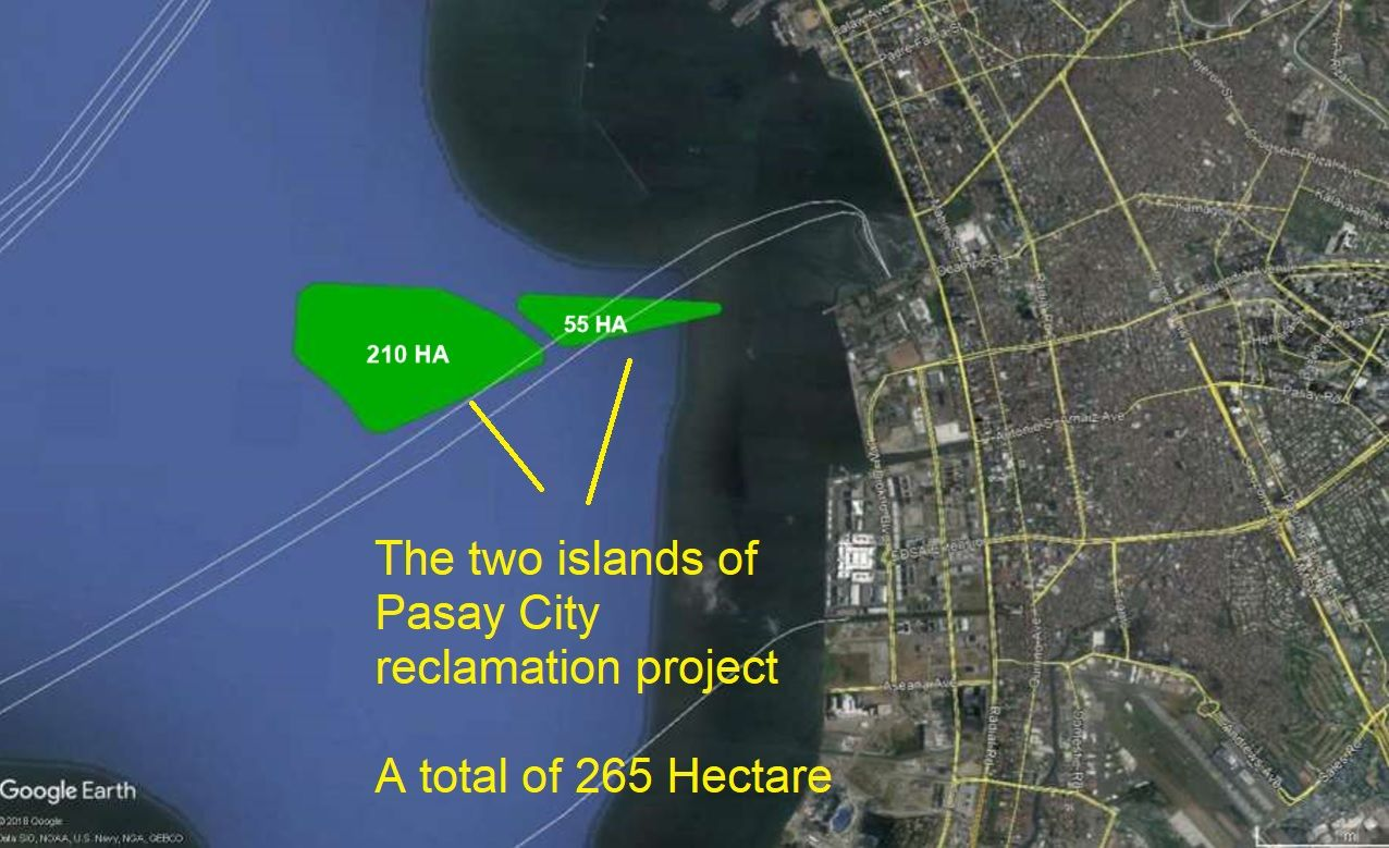 265 Hectare Pasay Harbour Reclamation Project (part 1 of 4