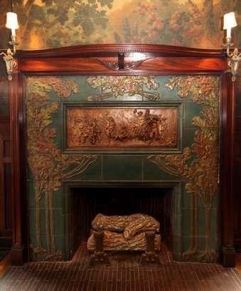 Rookwood fireplace. Interesting article in the Cincinnati ...