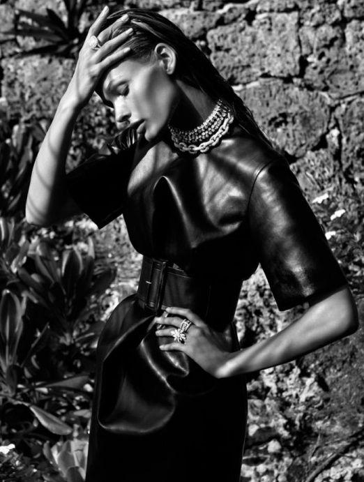 Edita Vilkeviciute For Vogue Spain