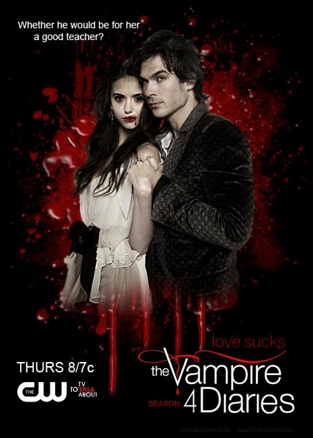 Vampire Diaries Saison 4 : vampire, diaries, saison, Vampire, Diaries, Season, Posters, Ideas, Seasons,, Diaries,