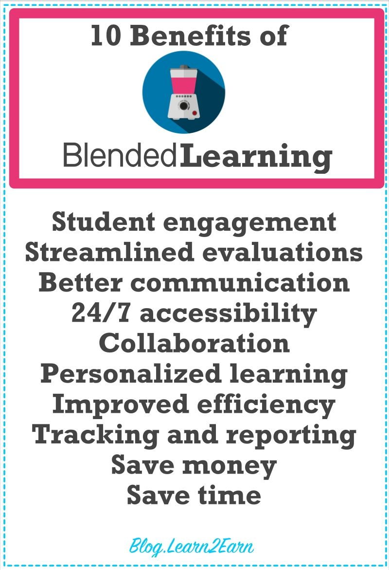10 Benefits of Teaching in a Blended Learning Classroom