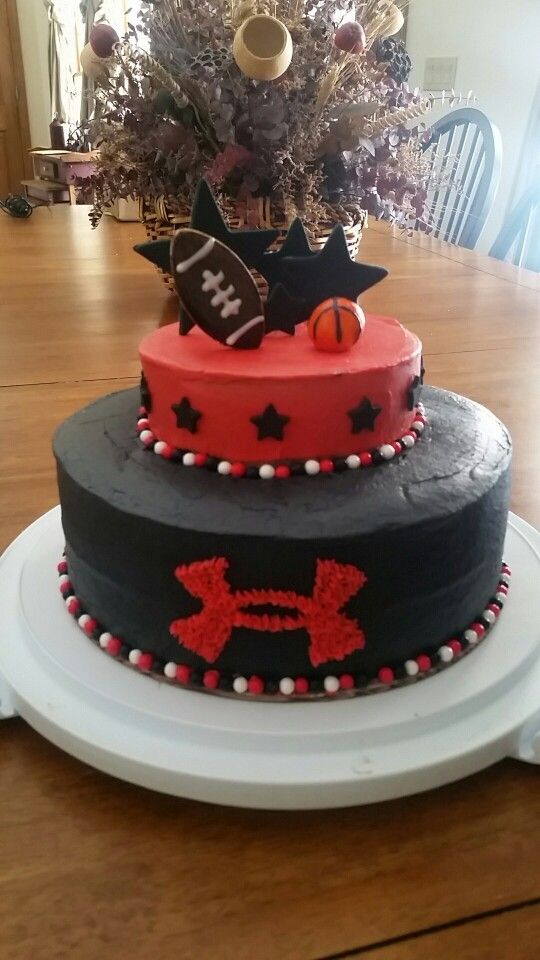 Under Armour Cake Cakes Ive Made Pinterest Cake Birthday