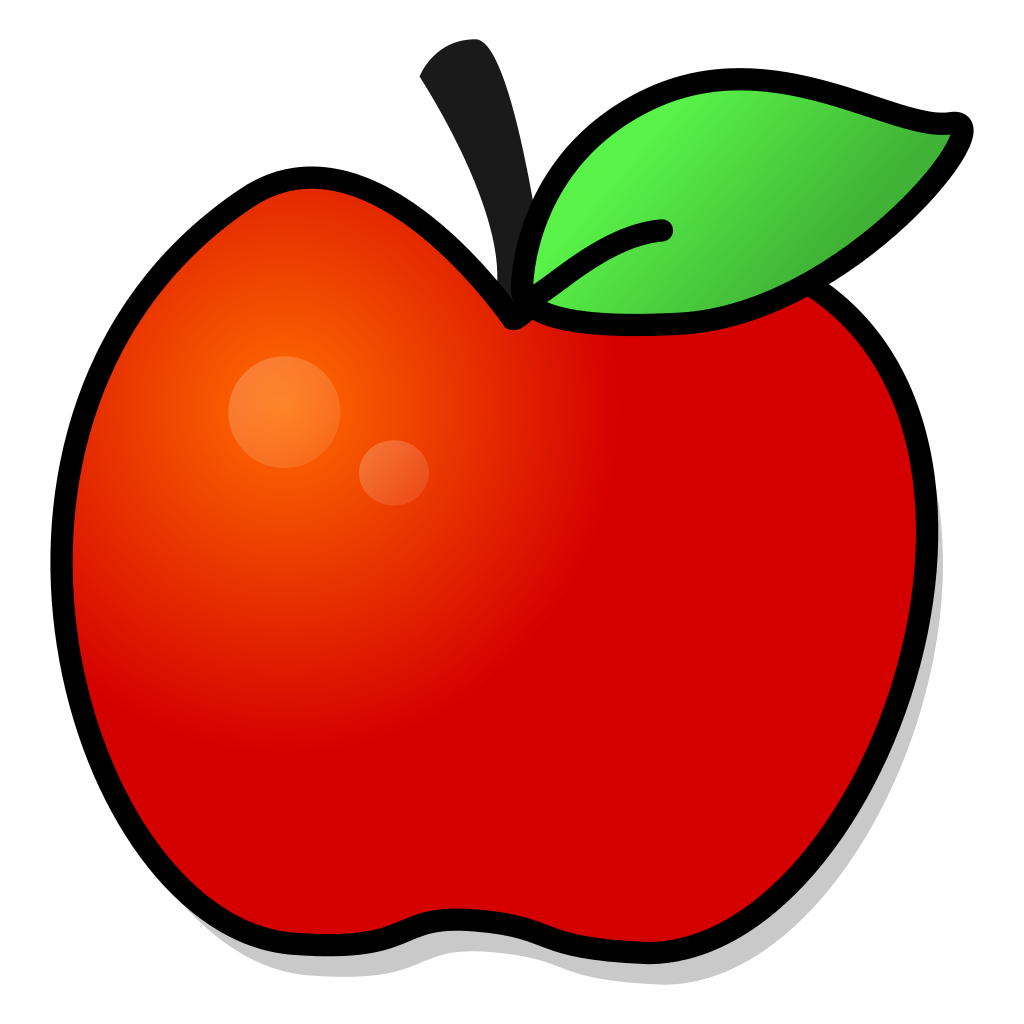 Image Result For Red Apple Free Printable Template Garfield