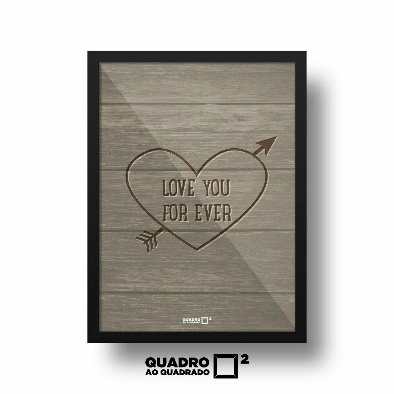 • Quadro Love You Forever • Feito especialmente para representar aquele amor perfeito  Já disponível em nosso site www.quadroaoquadrado.com.br  Enviamos para todo Brasil!  Aceitamos todos os cartões de crédito e débito ou boleto! :)