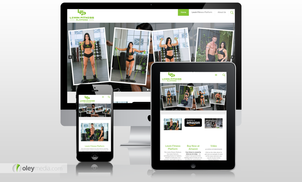 8c08356007 Lewin Fitness Platform Mobile Responsive WordPress Website   MobileResponsive  WordPress  WebsiteDesign  OleyMedia
