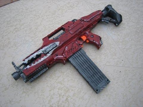 [MOD] Nerf Bandit Assault Rifle Replica - Borderlands 2 - Nerf Rapidstrike