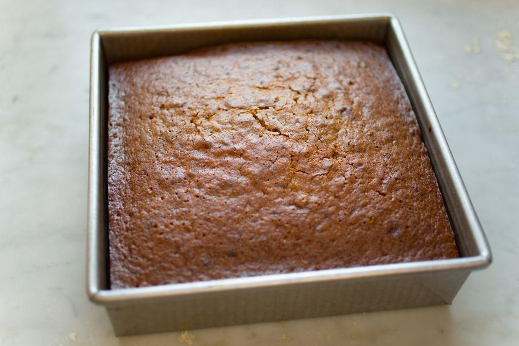 Applesquash einkorn spice cake baking sweets paleo