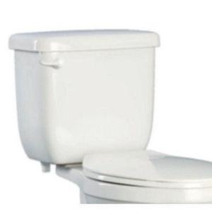 Proflo 1 28 Gpf Elongated Toilet Tank In White Pf5110hewh Toilet Tank Toilet