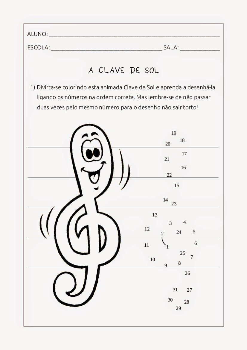 Resultat D Imatges De Notas Musicais Atividades Atividades De
