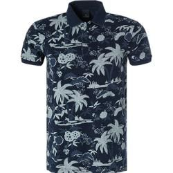 Photo of Scotch & Soda Polo Hemd Herren, blau Scotch & Soda