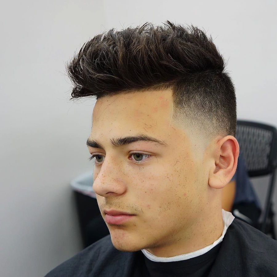 boys hair cut style cool undercut hairstyles fade haircut 7595