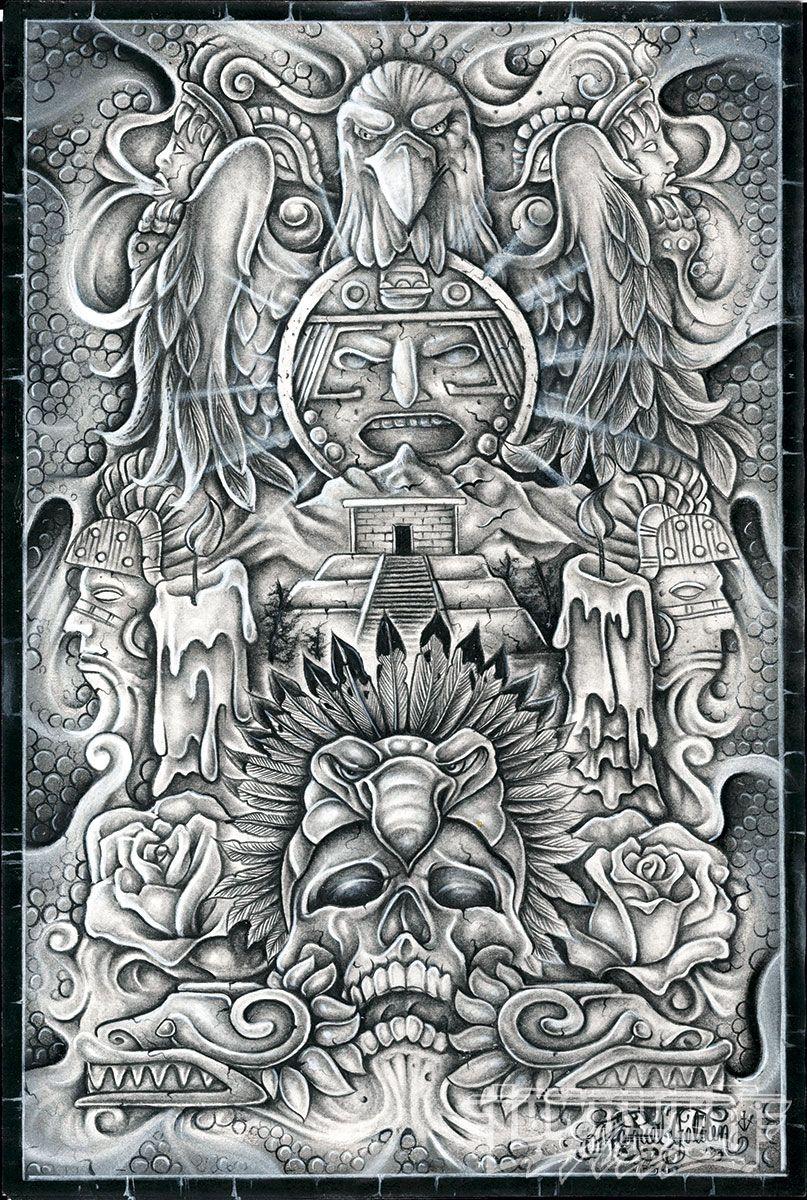 Check Manuel Luis Golden' Winning Artwork