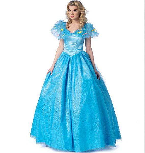 Disney-style Beauty & Beast BELLE or CINDERELLA Princess Ball Gown ...