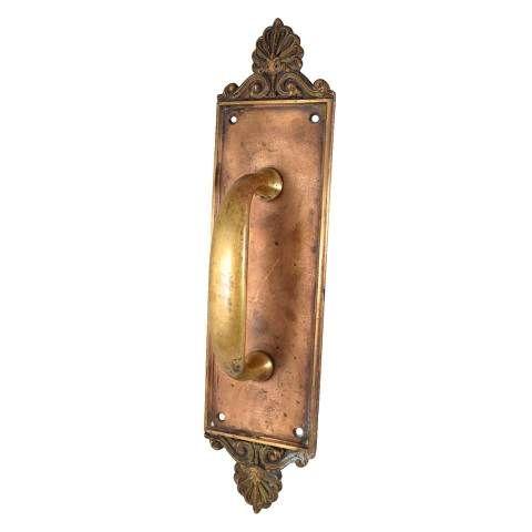 russwin brass door handle columbus architectural salvage