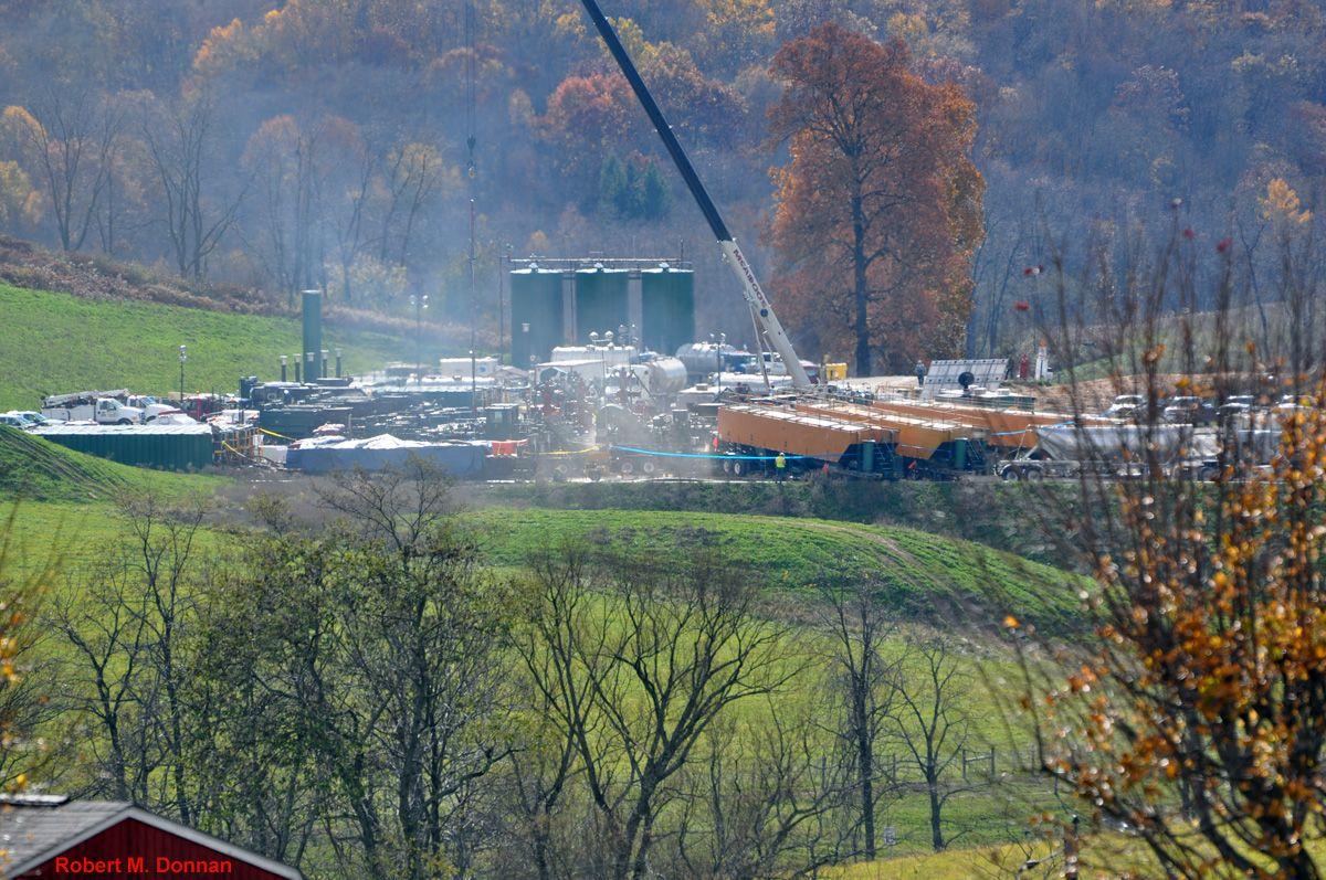 FRACKING | Marcellus Shale | Marcellus shale, Compressor