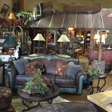 Rustic Furniture Decor, Western Style Furniture Oklahoma City