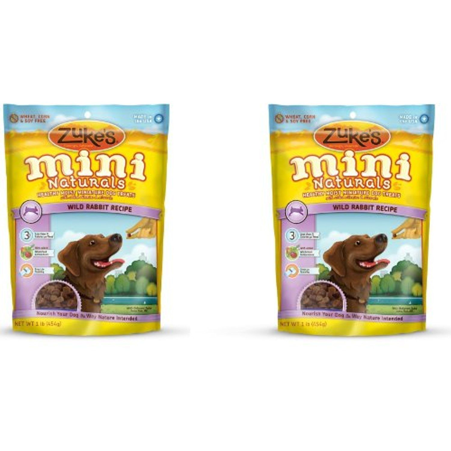 Zuke S Mini Naturals Dog Treats Wild Rabbit 1lb 2 Pack You Can See This Great Product This Is An Affiliate Natural Dog Treats Wild Rabbit Natural Treat
